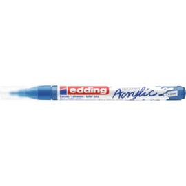 Edding 5300 Acrylmarker fijn 1-2mm - 903 Gentiaanblauw