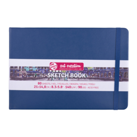 Talens art creation Brush / Schetsboek 21 x 15 cm - 80 vellen - Marine Blauw