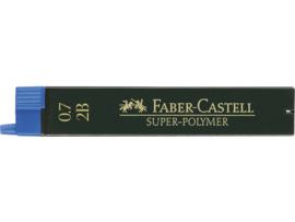 Faber Castell navulling potloodstiftjes Super-Polymer 0,7 mm - Hardheid 2B