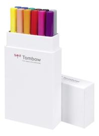 Tombow ABT Dual Brush Pen - set van 12 Primary colours