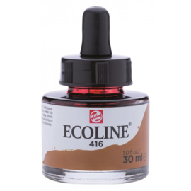 Talens Ecoline Vloeibare waterverf 30 ml - 416-sepia