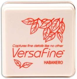 Tsukineko VersaFine inktpad 3 x 3 cm - watervaste inkt - Habanero