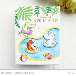 My Favorite Things clear stamps - set van 17 - BB Sunshine & Friendship