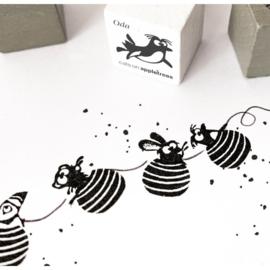 Cats on Appletrees - Advent Calendar met Mini stempels - set 4 + GRATIS BINGOKAART