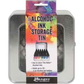 Tim Holtz - Alcohol Ink Storage Tin - opbergblik
