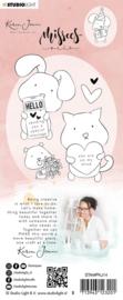 Studio Light Clear Stamp Karin Joan - Pets - Missees Collection nr.14 (Leverbaar week 12)
