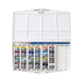 Winsor & Newton Cotman Painting Plus - Aquarel palette 24 kleuren