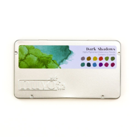 Nuvo watercolour potloden - Dark Shadows 524N - set van 12