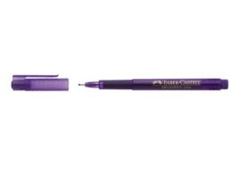 Fineliner Faber-Castell Broadpen 1554 0.8mm - violet