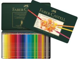 kleurpotlood Faber Castell Polychromos 3,8mm kerndikte - set van 36