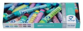 Van Gogh Soft Pastels - set van 12 kleuren