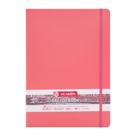 Talens art creation Brush / Schetsboek 21 x 29,7 cm - 80 vellen - Coral Red