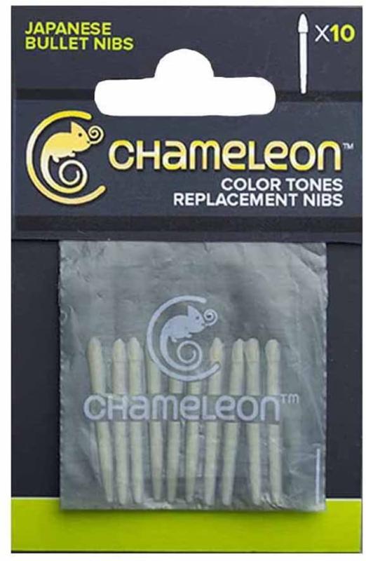 Chameleon Replacement Bullet Nibs - set van 10
