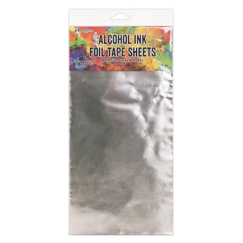 Tim Holtz alcohol ink foil tape sheets 15,2 x 30,5 cm