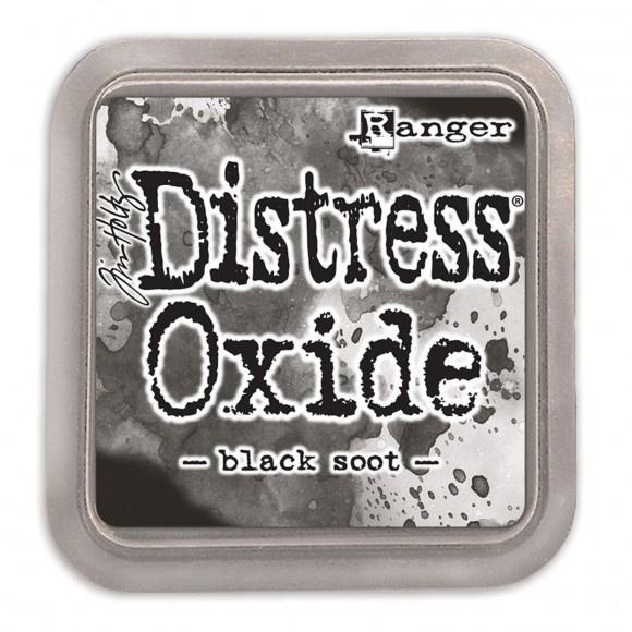 Tim Holtz Distress Oxide Inkt Pads groot - Black Soot