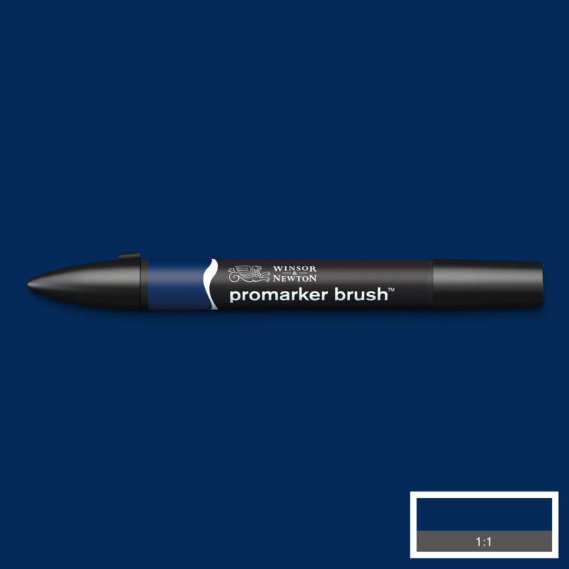 Winsor & Newton promarkers Brush - Indigo Blue