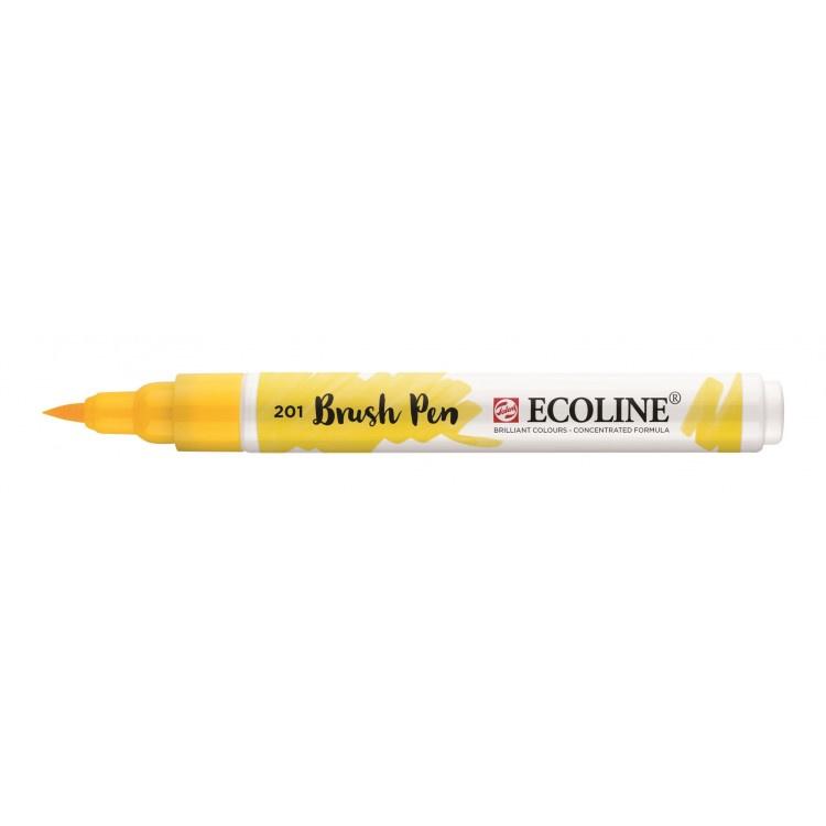 Talens Ecoline Brush Pen - 201 lichtgeel