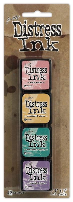 Tim Holtz distress mini ink kit 4