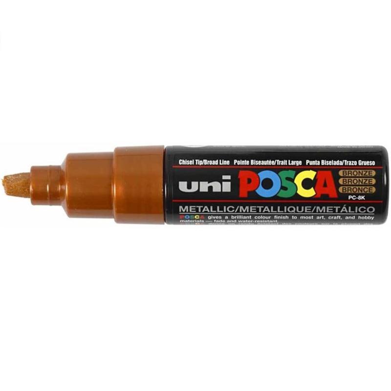 Uni Posca Paint Marker PC-8K - Brons