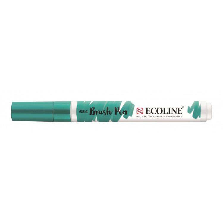 Talens Ecoline Brush Pen - 654 dennengroen