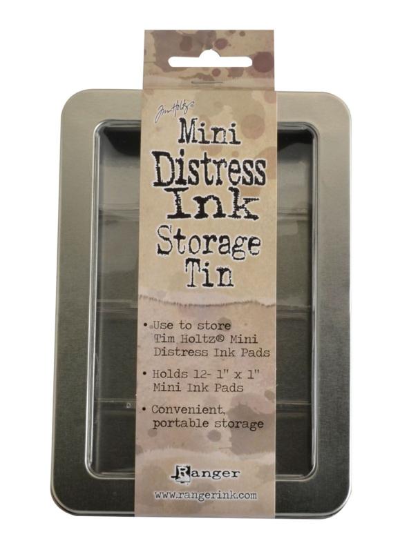 Tim Holtz -Mini distress ink Storage Tin - opbergblik