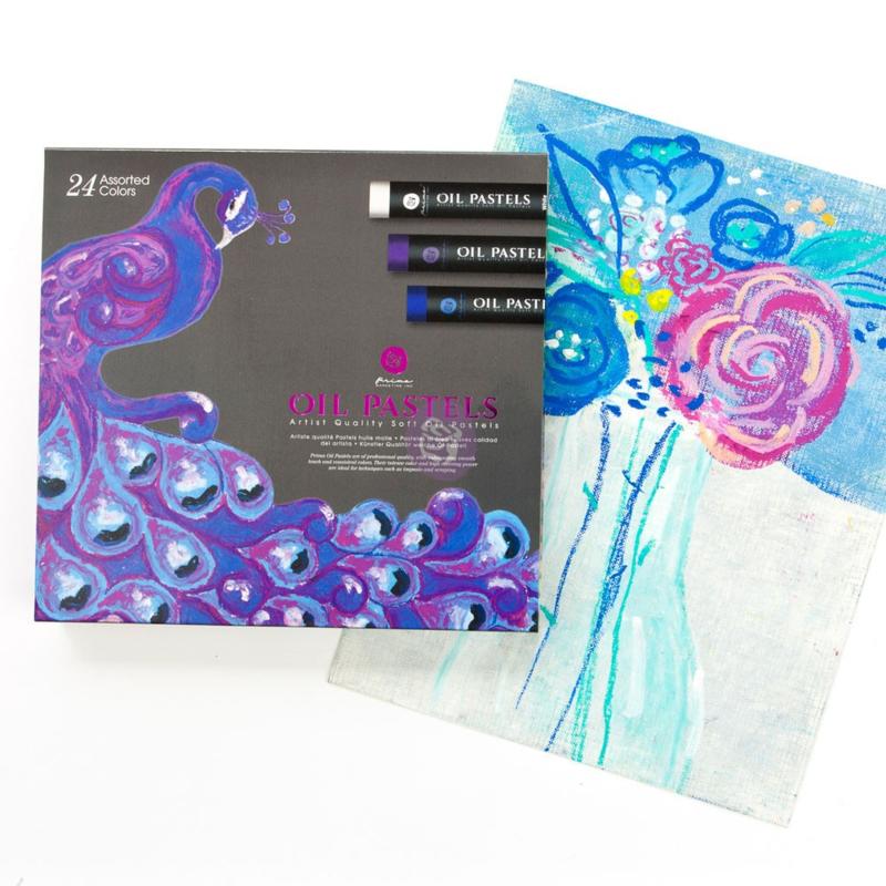 Prima Marketing Soft Oil Pastels - Artist Quality - set van 24