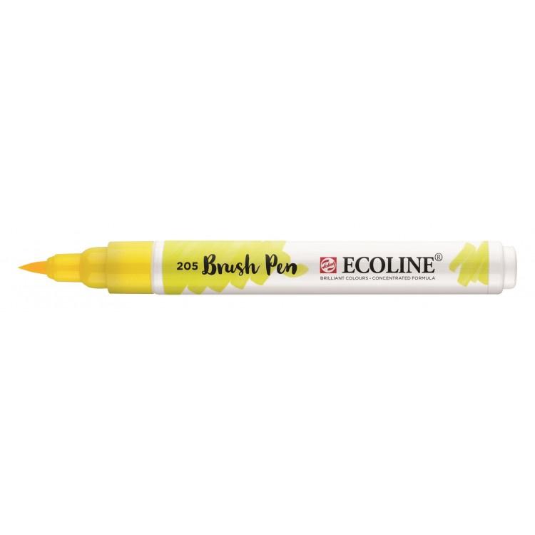 Talens Ecoline Brush Pen - 205 citroengeel