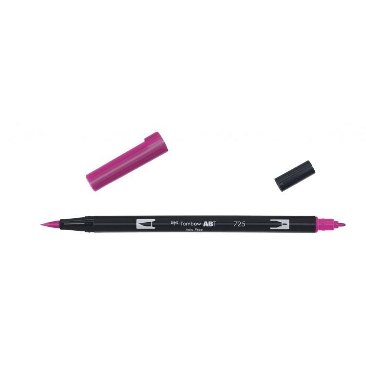 Tombow ABT Dual Brush Pen 725 rhodamine red