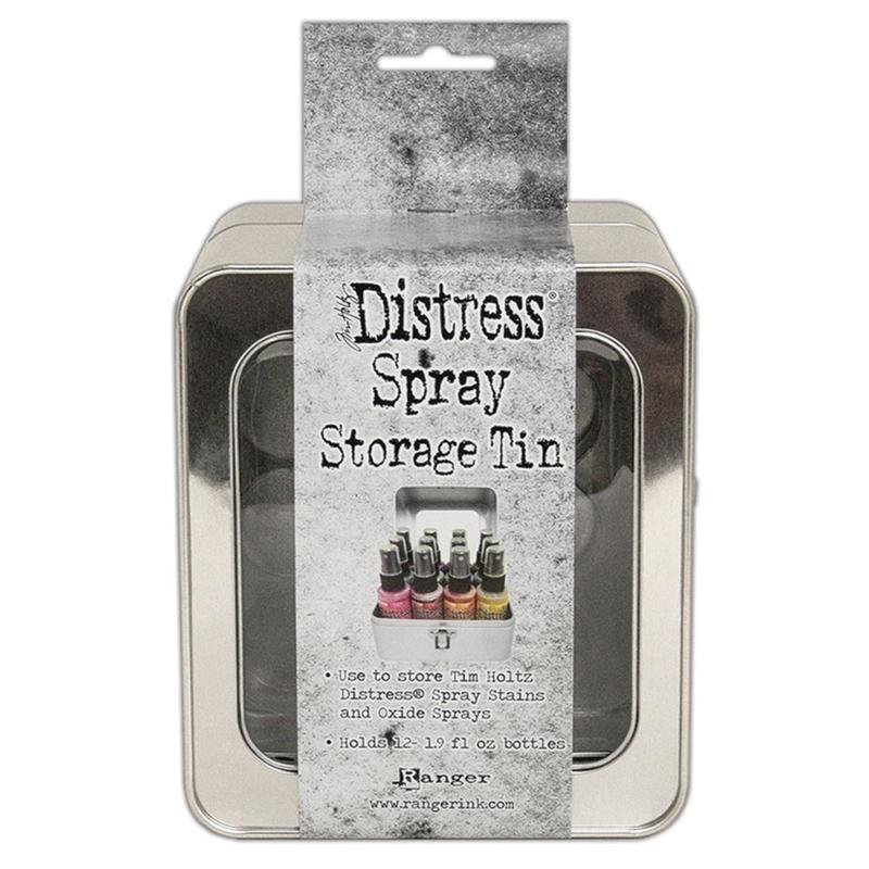 Tim Holtz Distress Oxide Spray Storage Tin