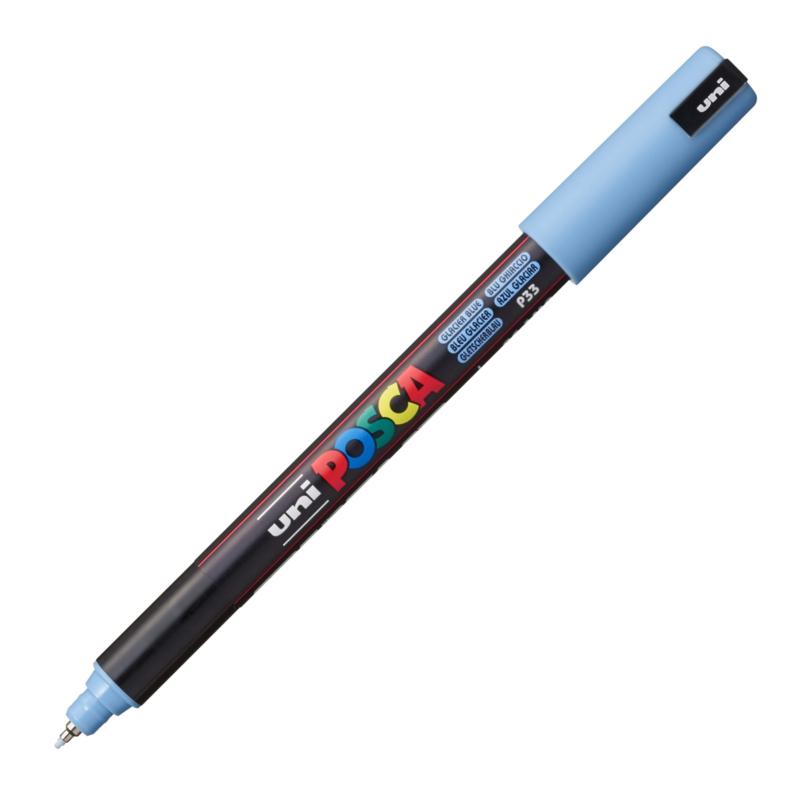 Uni Posca Paint Marker PC-1MR - Ultra Fijn - Glacier Blue