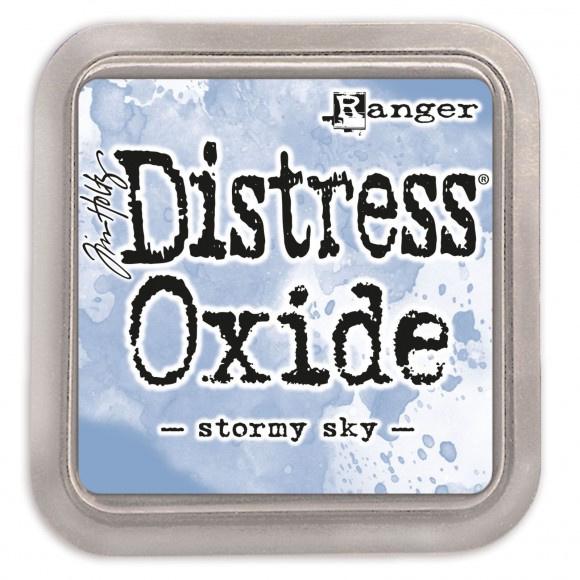 Tim Holtz Distress Oxide Inkt Pads groot - stormy sky