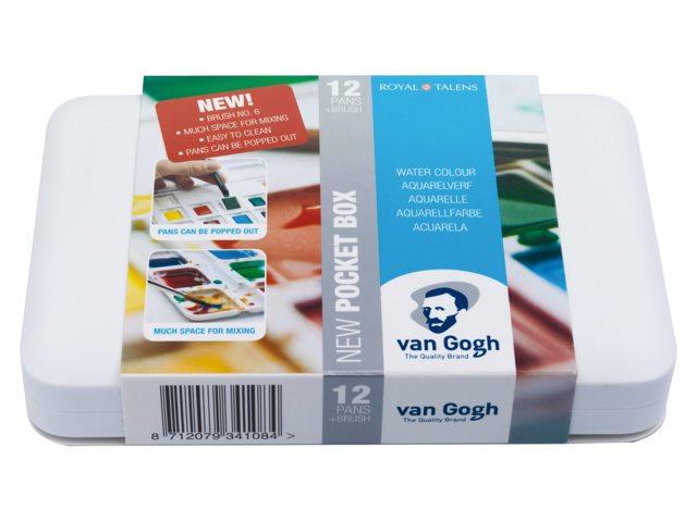 Van Gogh aquarelverf - Pocketbox 12 napjes - Hp8631