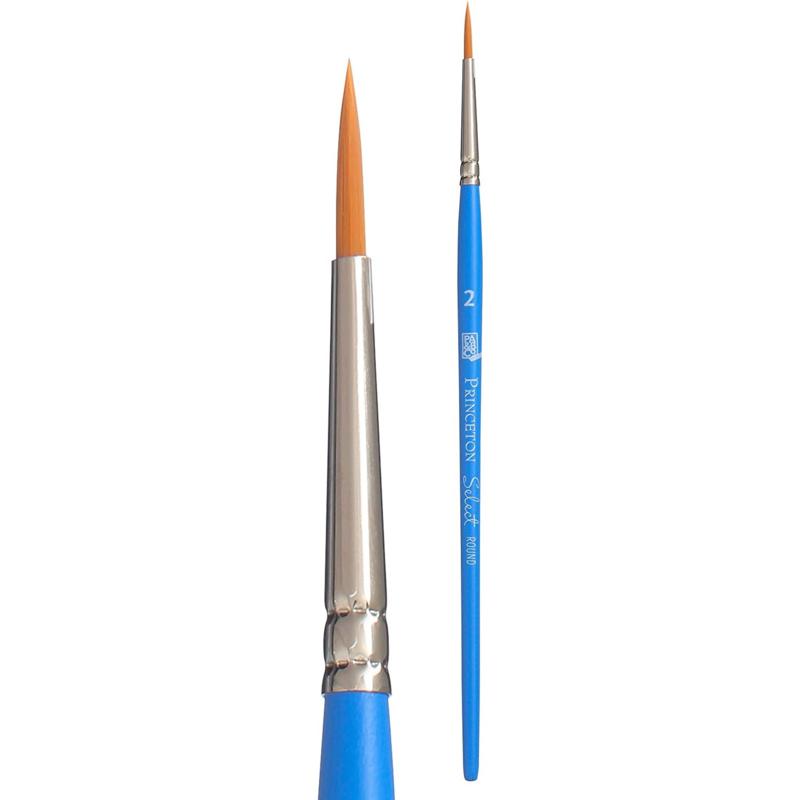 Princeton Select Penseel Serie 3750 - Round Size 2