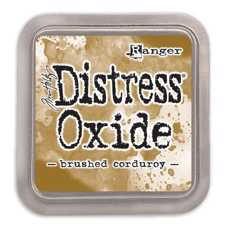 Tim Holtz Distress Oxide Inkt Pads groot - Brushed corduroy