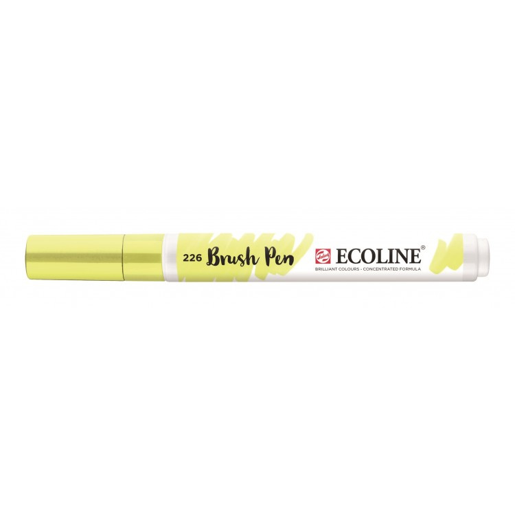 Talens Ecoline Brush Pen - 226 pastelgeel