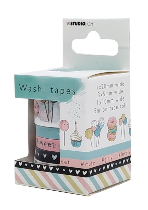 Studio Light Washi tape Karin Joan Missees Collection nr.03