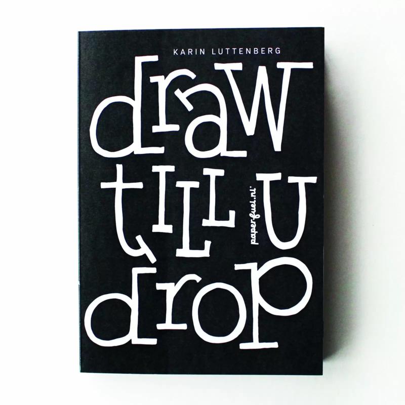 Paperfuel Oefenblok Draw till u drop - 60 vellen - 15 x 21 cm