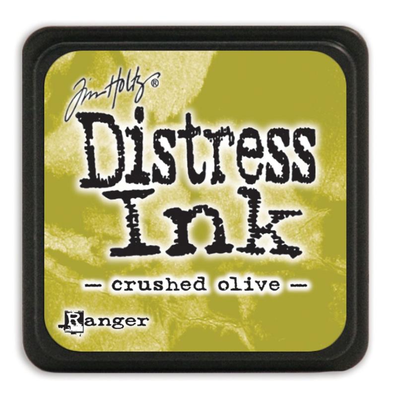 Tim Holtz Distress ink mini - crushed olive