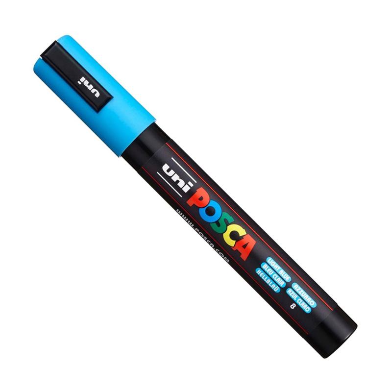 Uni Posca Paint Marker PC-5M - Lichtblauw