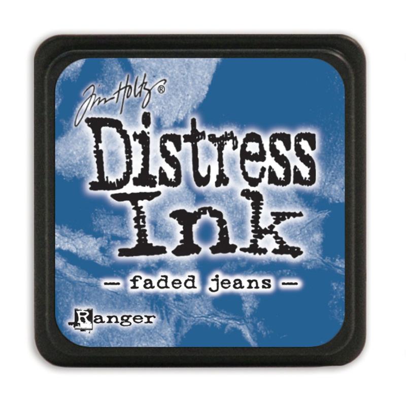 Tim Holtz Distress ink mini - faded jeans