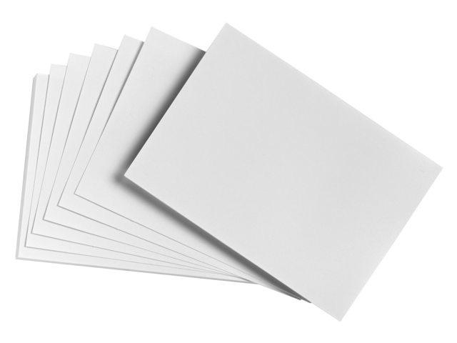 A6 correspondentiekaart Sigel Expres ivoorkarton - 50 stuks - Wit