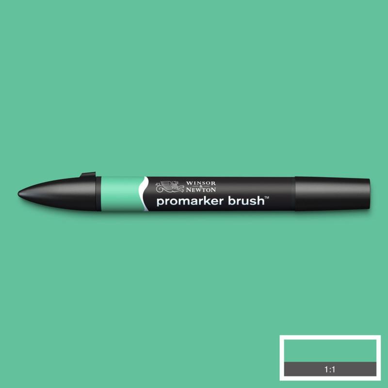 Winsor & Newton promarkers Brush - Mint Green