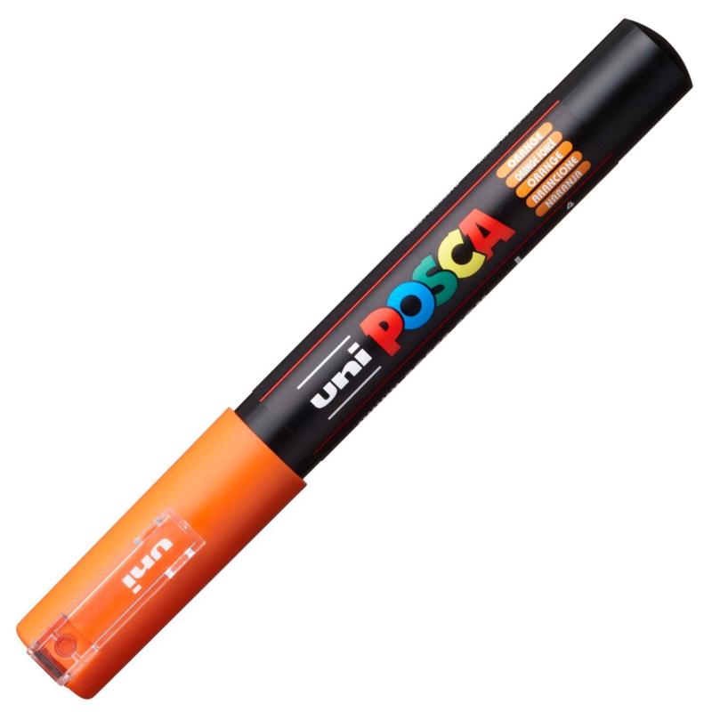 Uni Posca Paint Marker PC-1MC conische punt  - Oranje