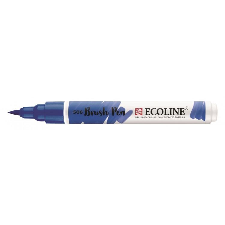 Talens Ecoline Brush Pen - 506 ultramarijn donker