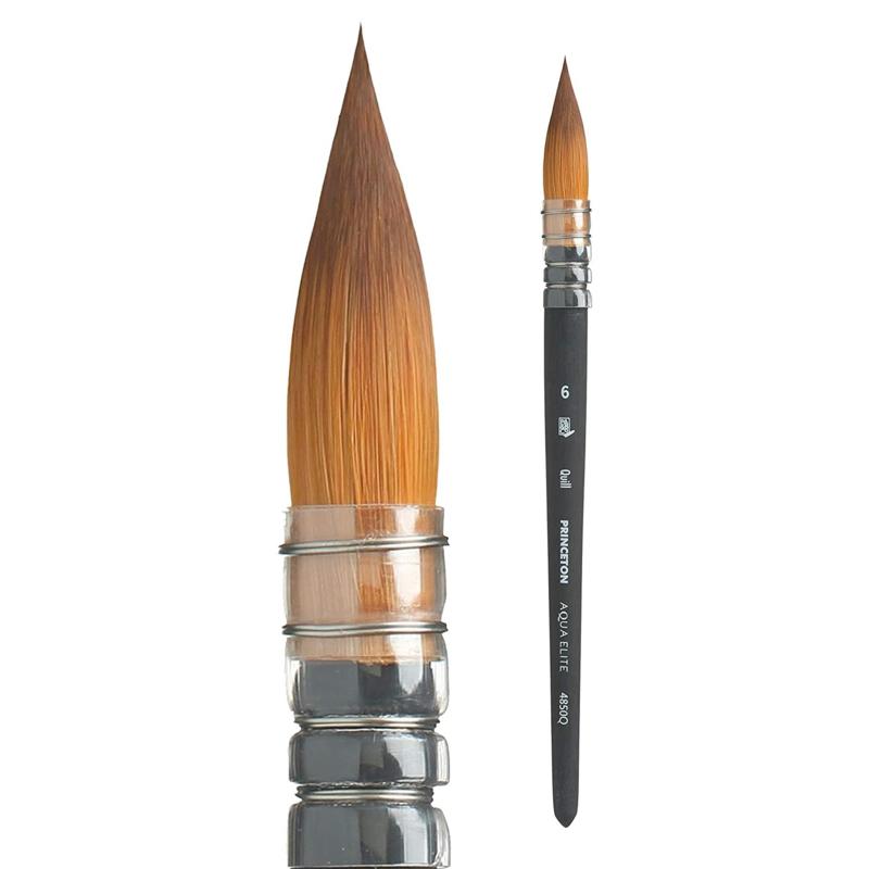 Princeton Aqua Elite Penseel Serie 4850 - Quill size 6