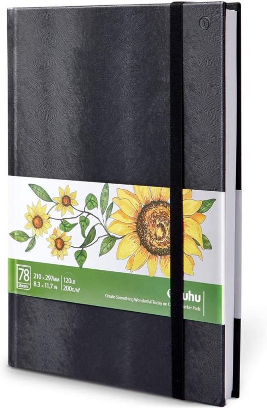 PRE-ORDER:  Ohuhu Alcohol marker papier pad A4 - 200 grams - 78 vellen
