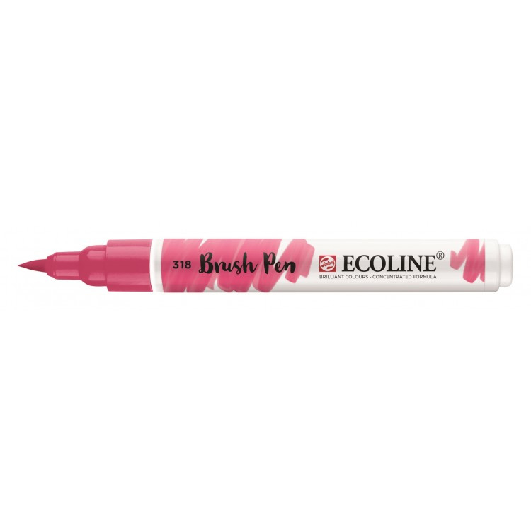 Talens Ecoline Brush Pen - 318 karmijn