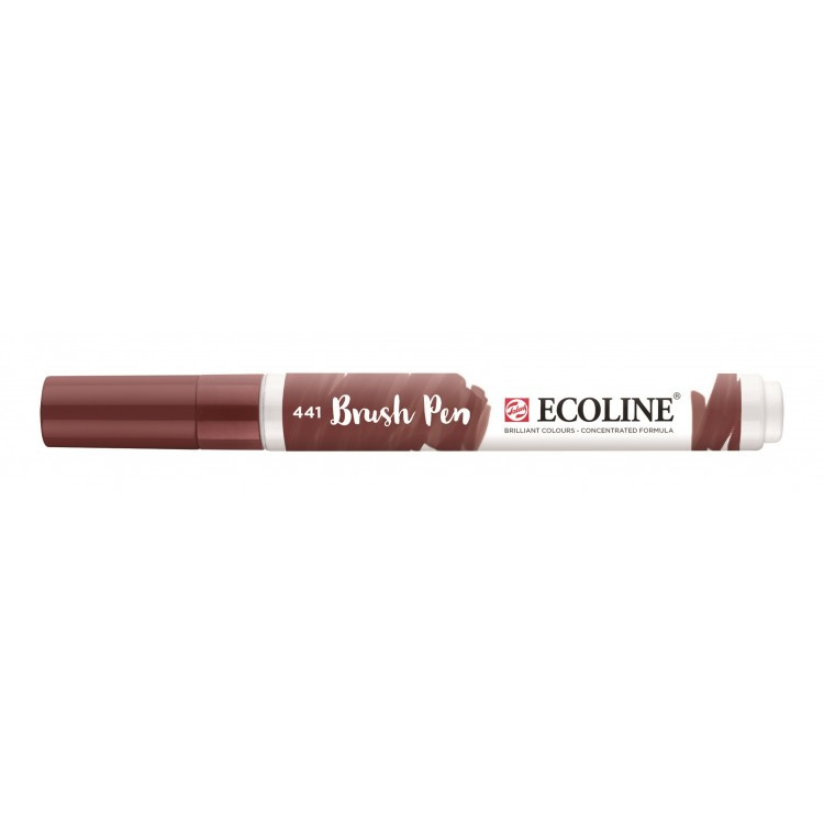 Talens Ecoline Brush Pen - 441 mahonie