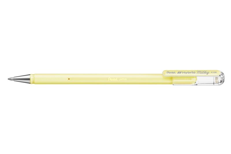 Pentel Milky Pastel K108 gelpen 0,8 mm - Pastelgeel