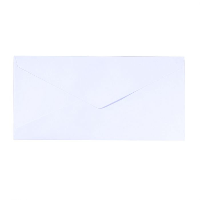 Florence - Enveloppen 22,5 x 11,5 cm wit - 120 grams - set van 5